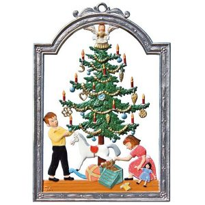 Christmas Tidings Wall Hanging by Wilhelm Schweizer Image
