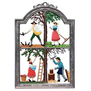 Four Seasons Wall Hanging by Wilhelm Schweizer Image