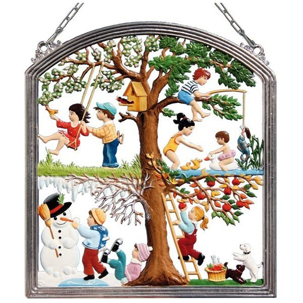 Children's Four Season Wall Hanging by Wilhelm Schweizer Image