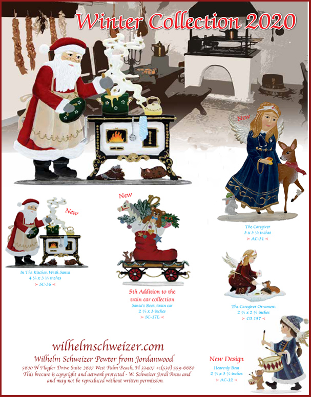 2020 Winter Collection Brochure Page 1 Image